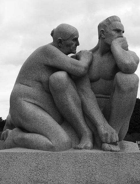 осло, памятник, поддержка