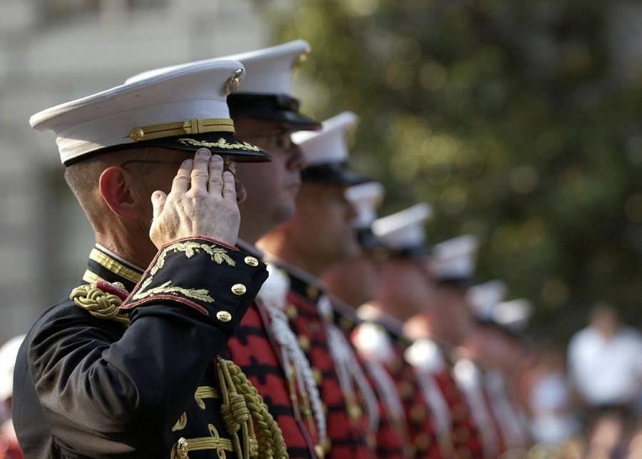 военные, парад, армия