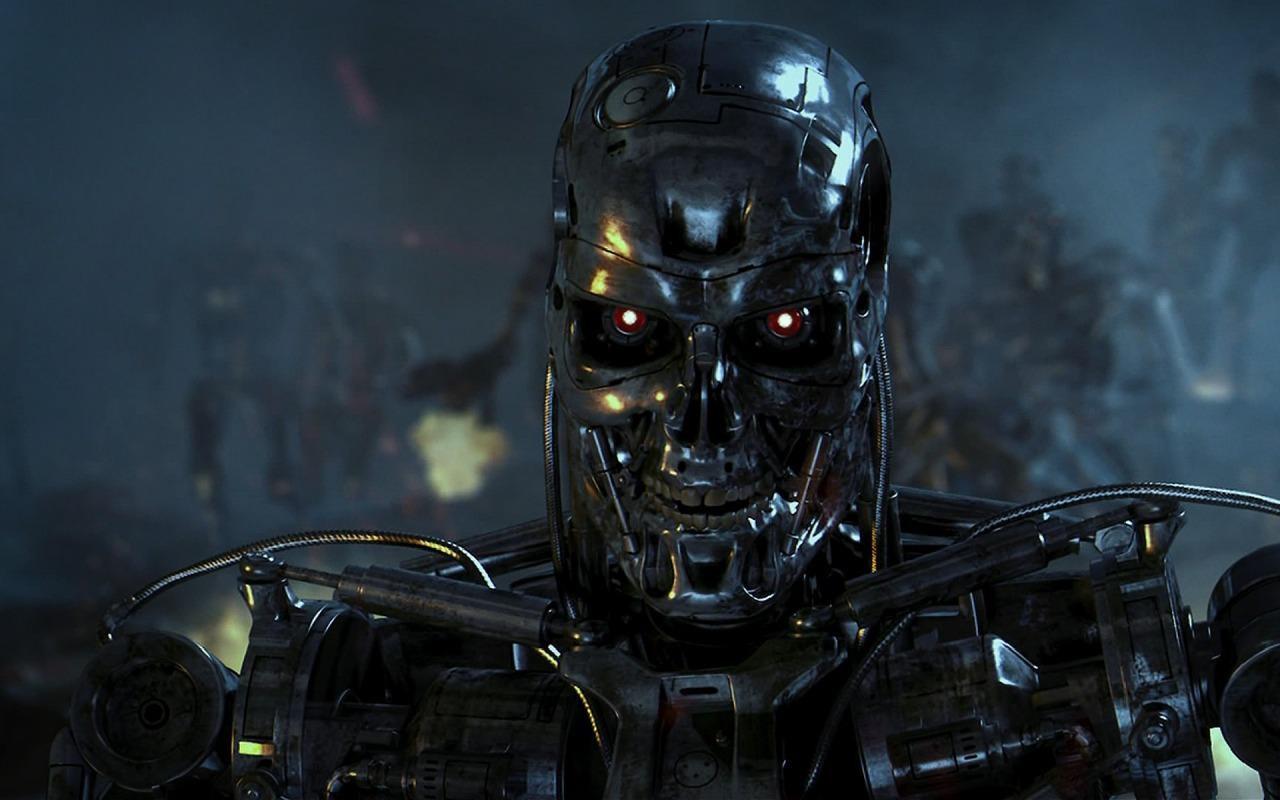 робот, андроид, мировое господство