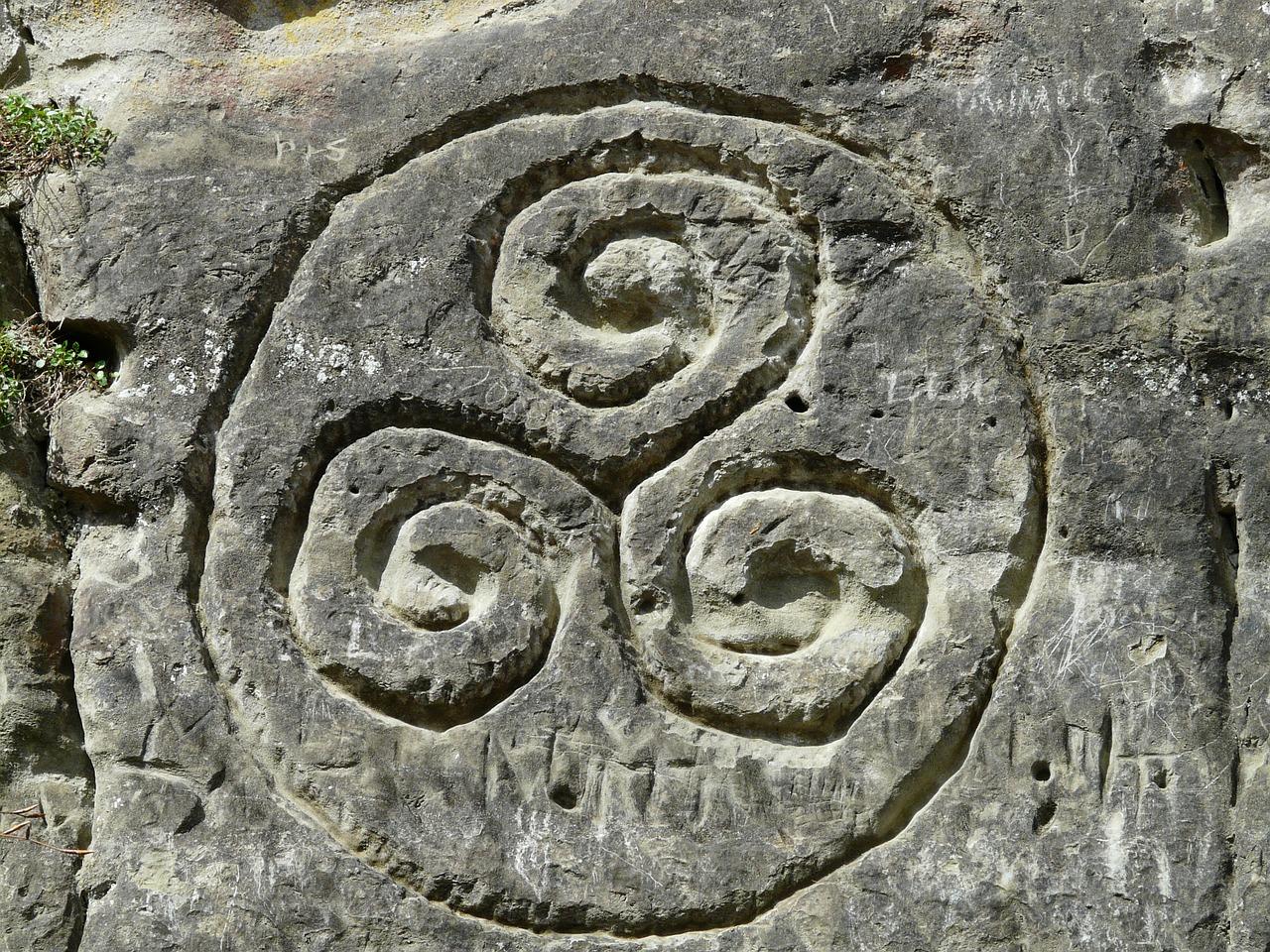 трискелион, узор, кельты