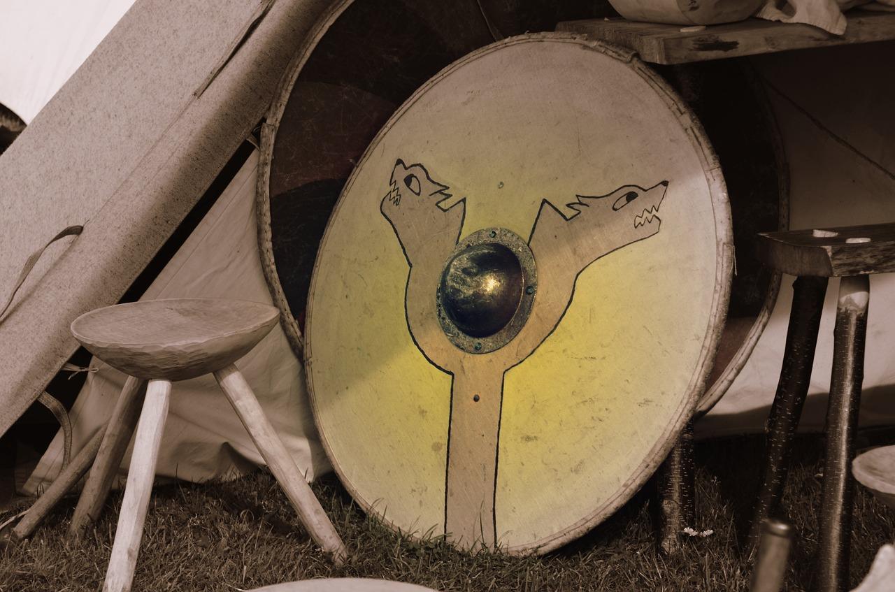 Щит, викинг