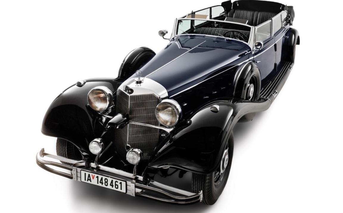 Мерседес, Гитлер, авто, аукцион