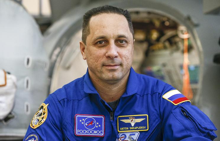 МКС, экипаж, Антон Шкаплеров