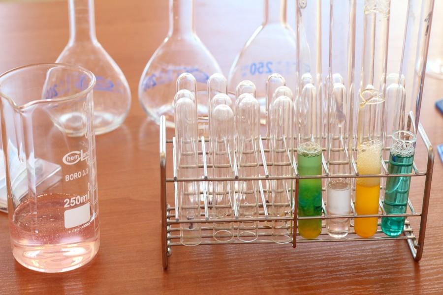 пробирки химия