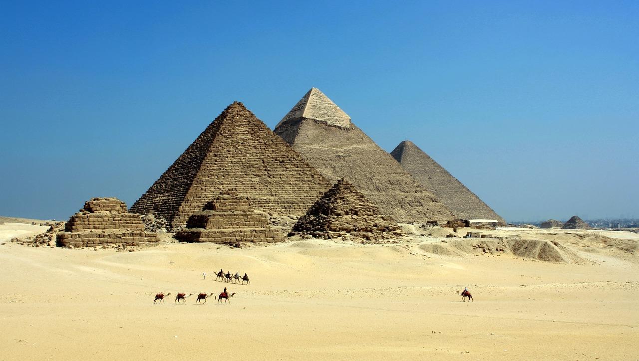 Египет, пирамида, гробница