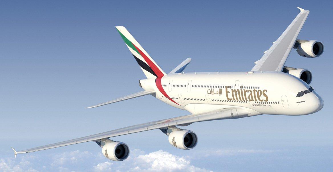 Самолет, иллюминатор, Emirates
