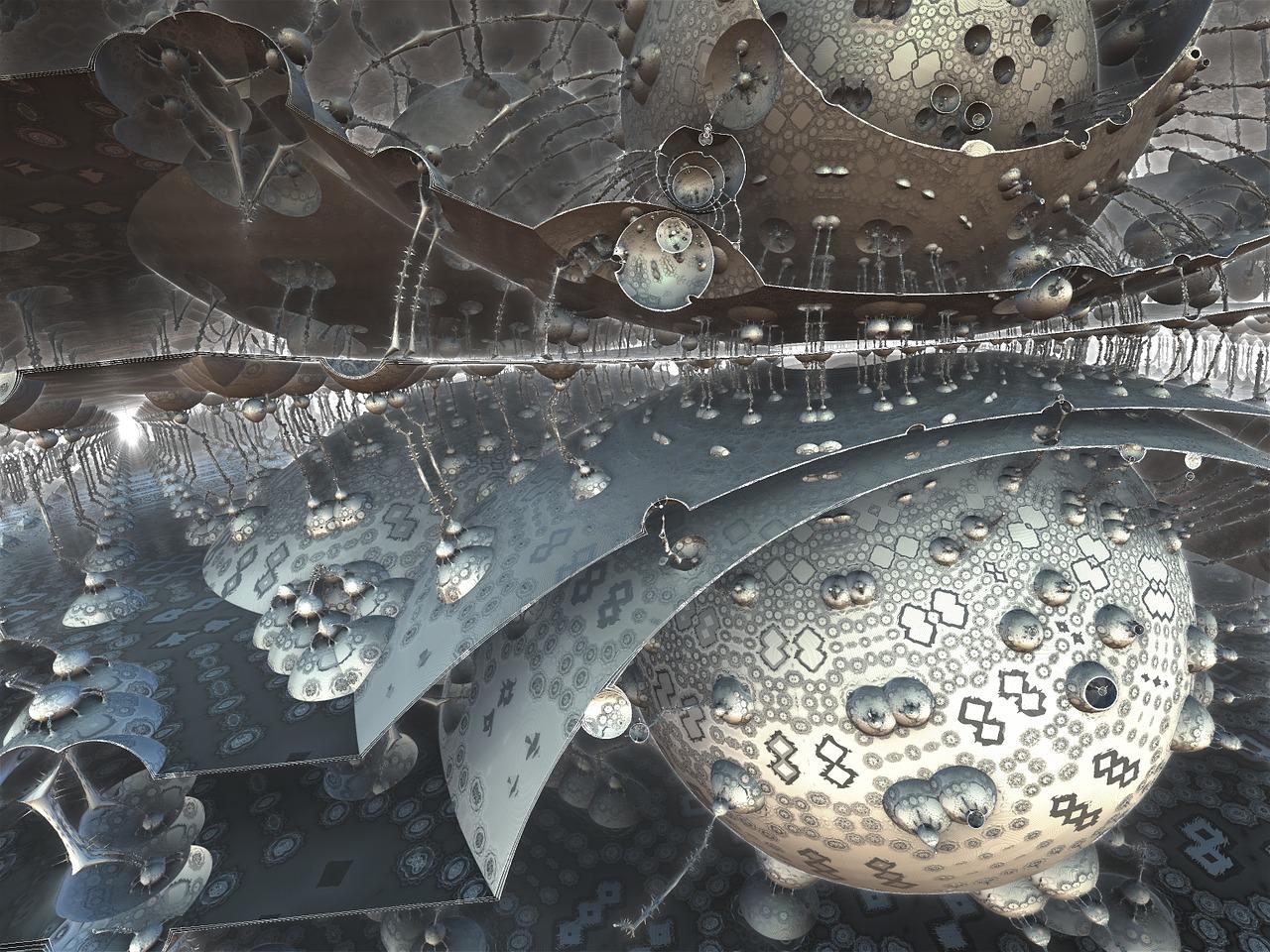 фрактал, гравитация, наука