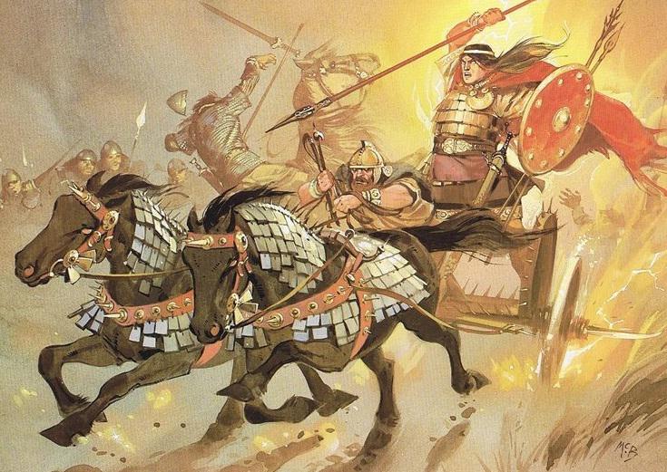 Кухулин, герой, скандинавия, мифология