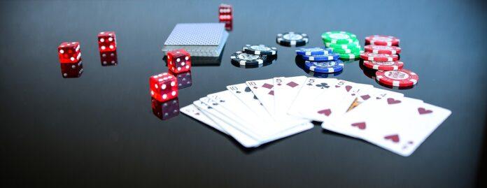 покер, карты, фишки