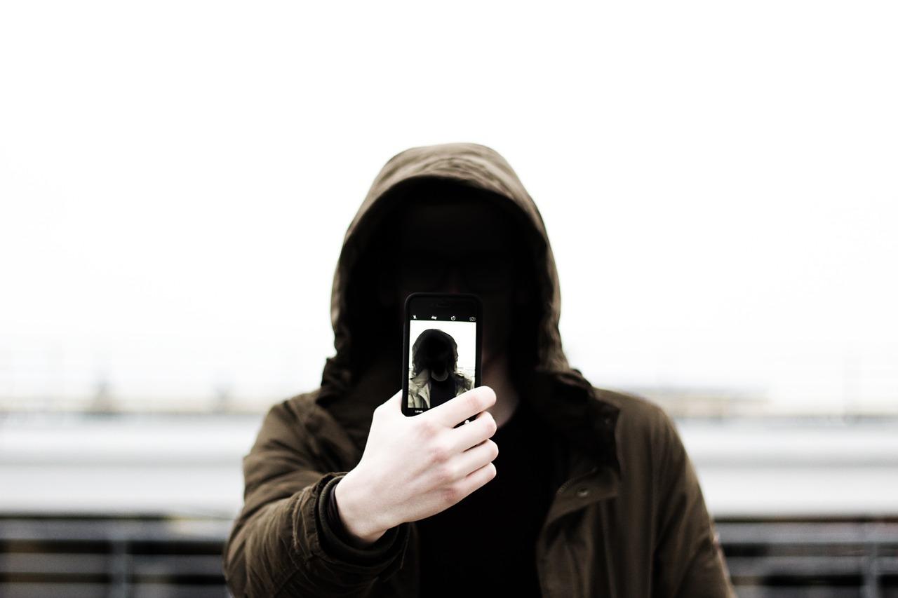 сэлфи, анонимный, фотография