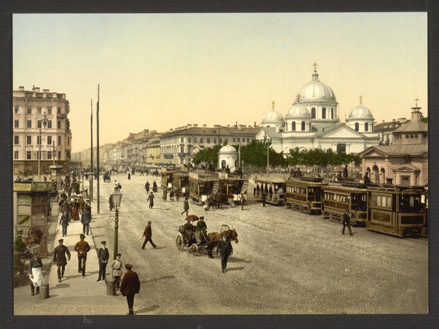 Дореволюционный Петербург