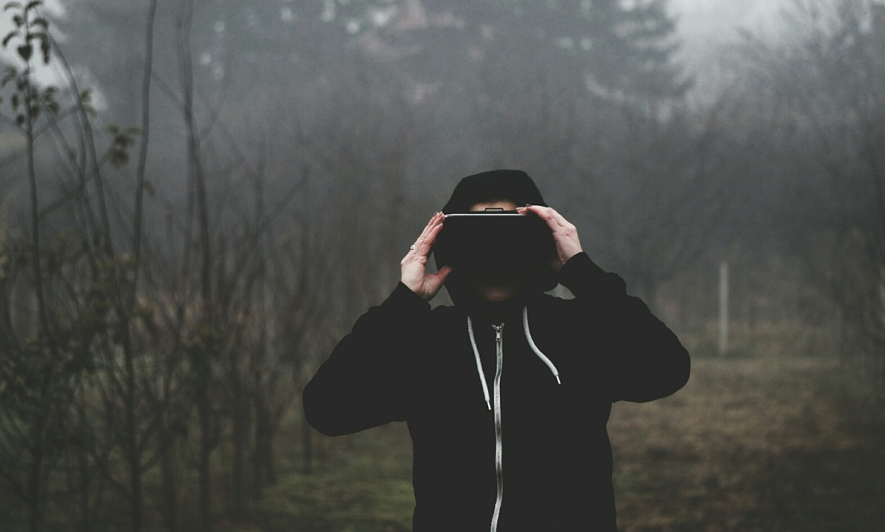 vr, виртуальная реальность, лес