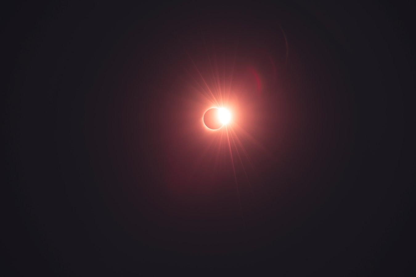 Солнце, затмение