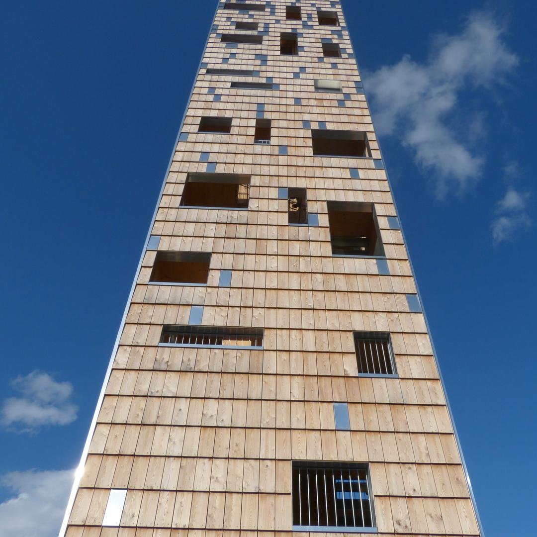 небоскреб, деревянный, архитектура