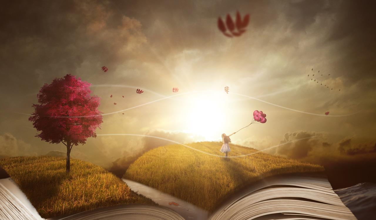 сказка, книга, видение