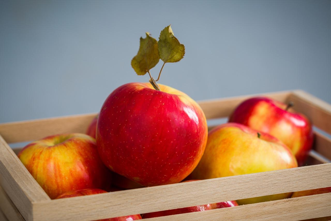 фрукт, яблоко, еда