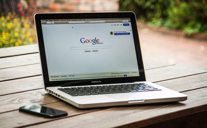 google, поиск, ноутбук