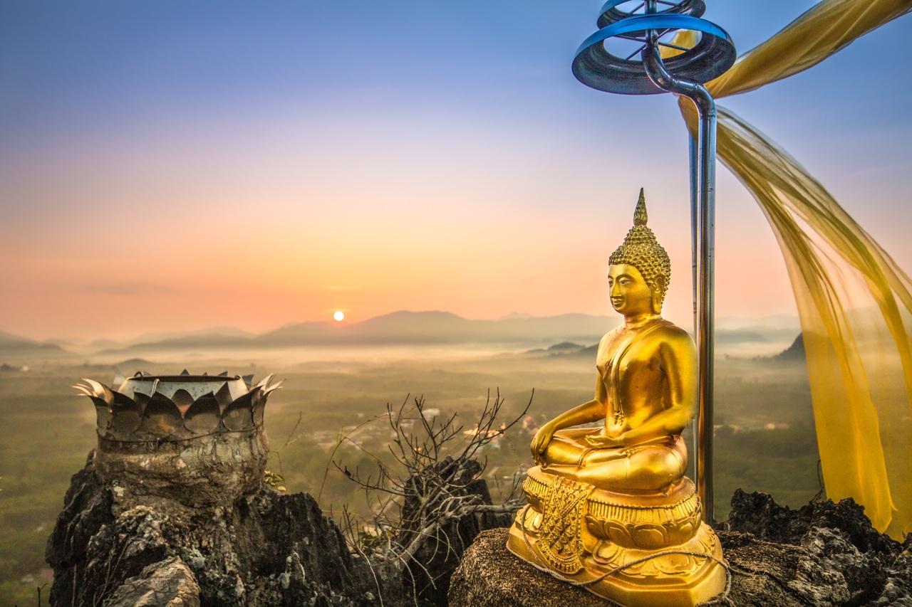 Будда, Тайланд, пейзаж