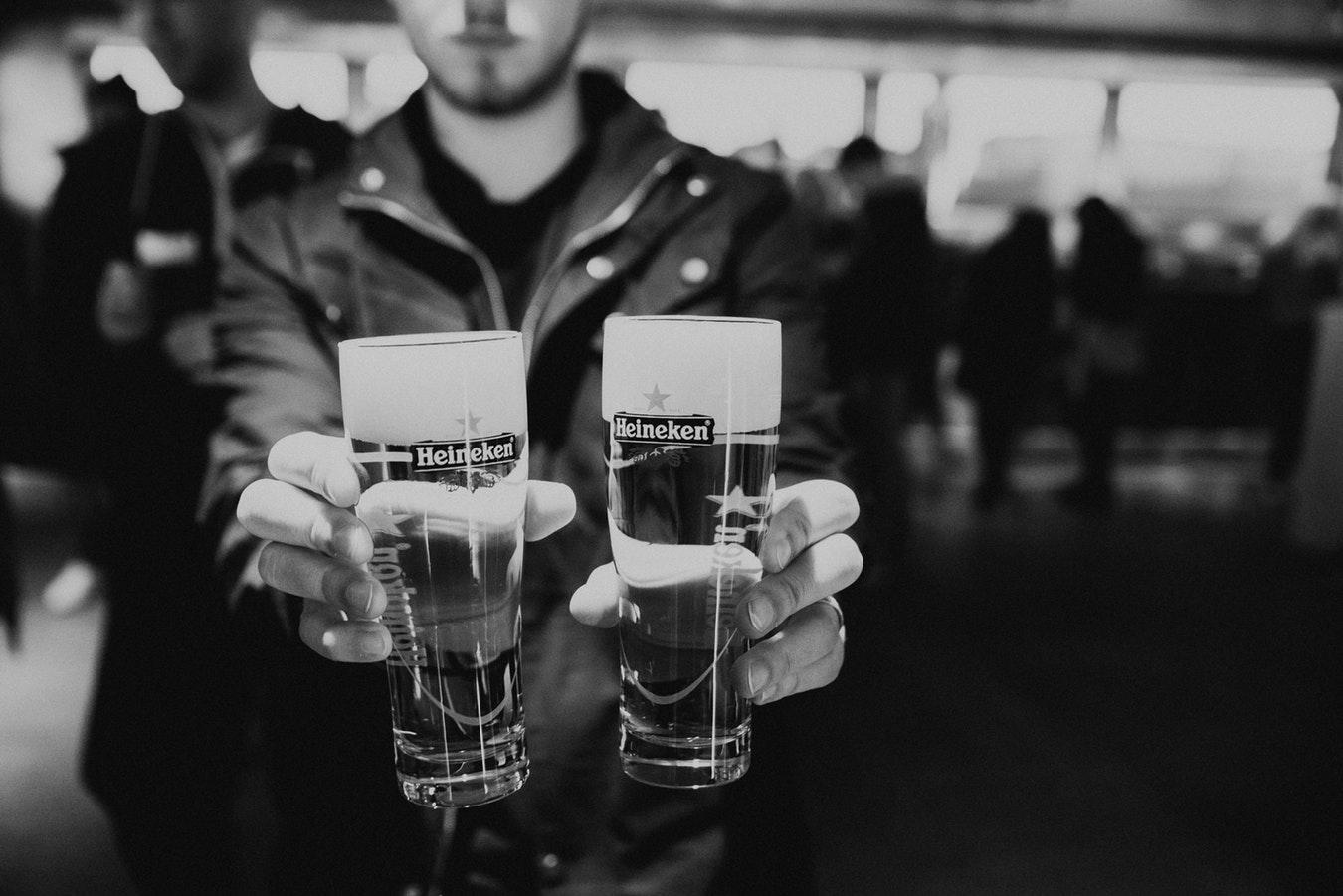 Пиво, пить, стакан