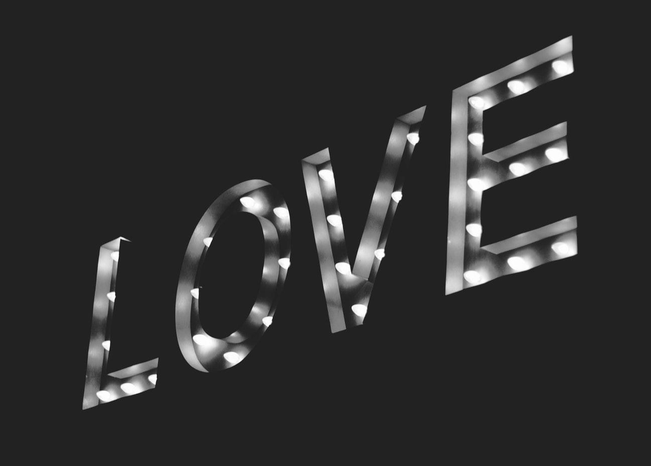 love, любовь, надпись