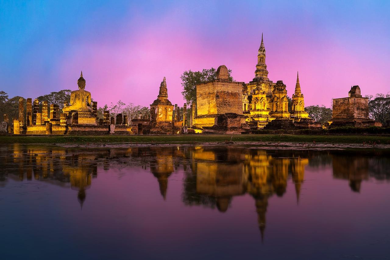 Город Аюттхая, Тайланд