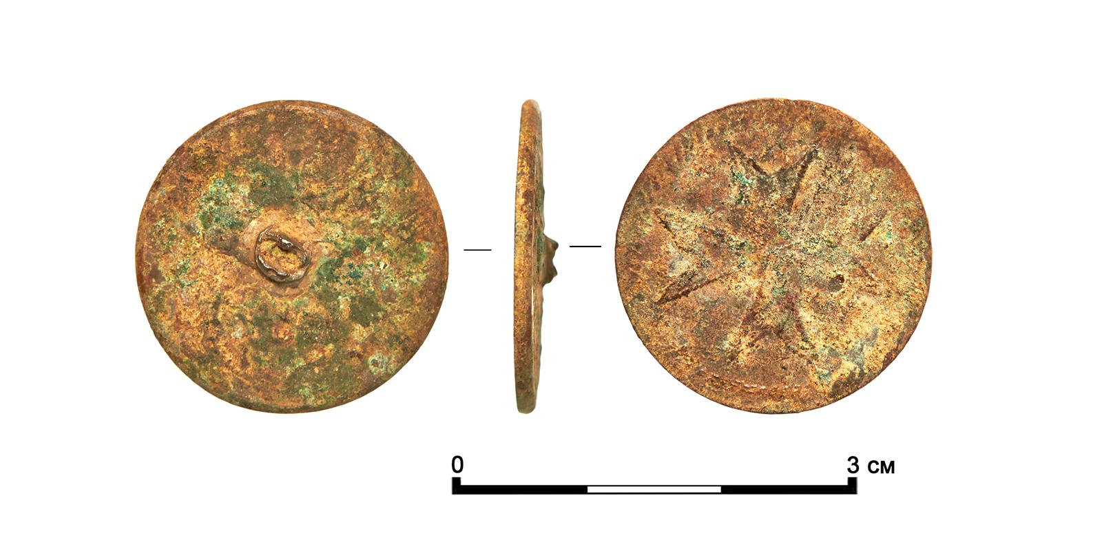 Пуговица, мальтийский орден