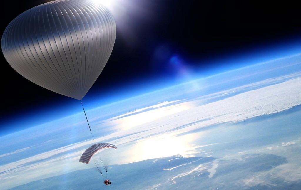 стратостат, космос, воздушный шар
