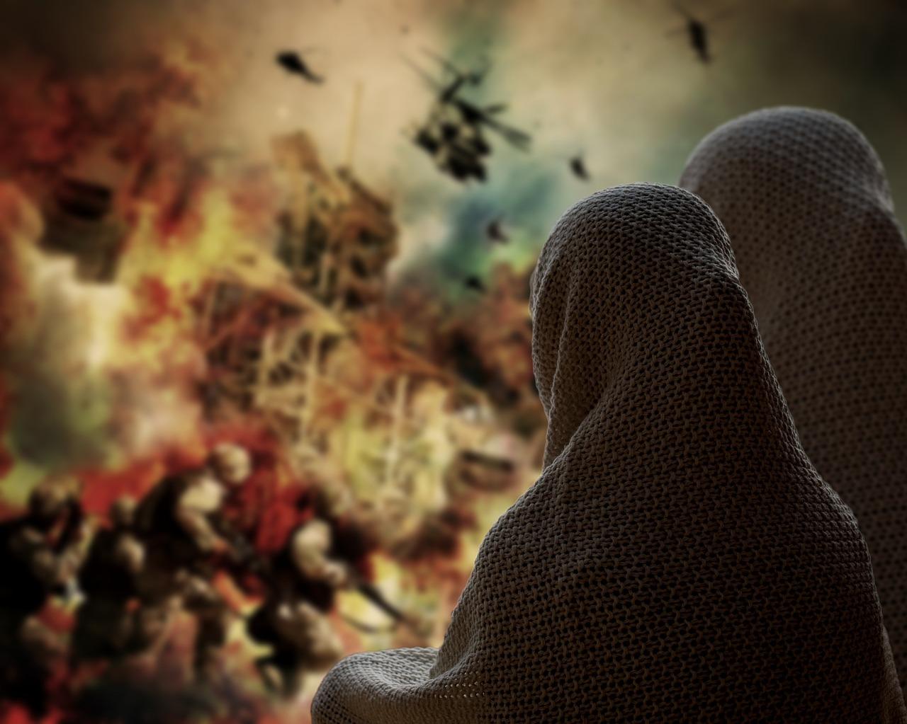сирия, беженец, конфликт