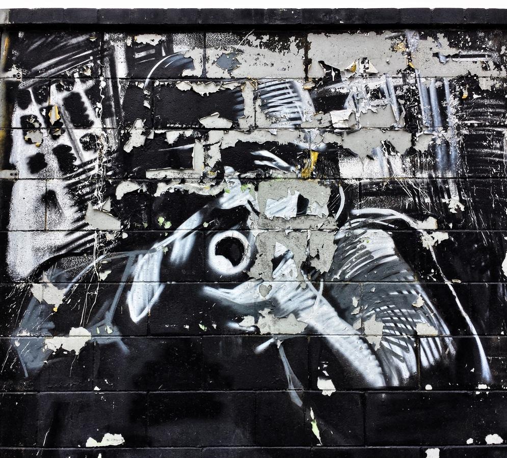 граффити, стритарт, постмодернизм, война