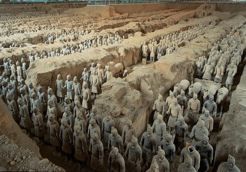 мавзолей императора Цинь Шихуанди