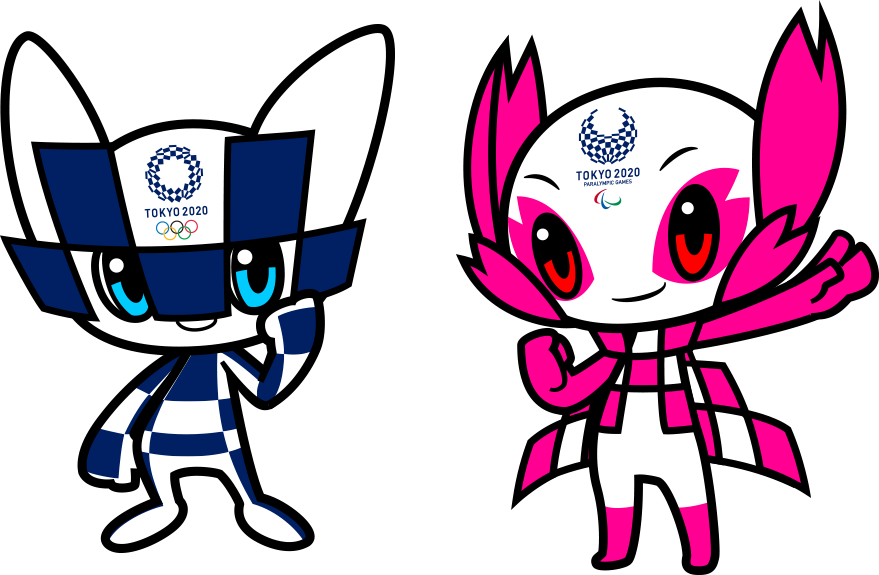 Талисманы олимпиады 2020