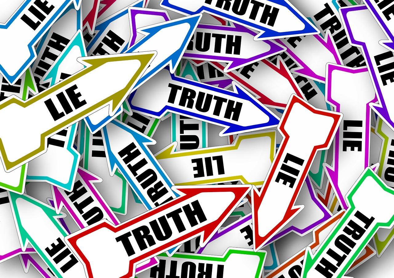 ложь, правда, направление, выбор