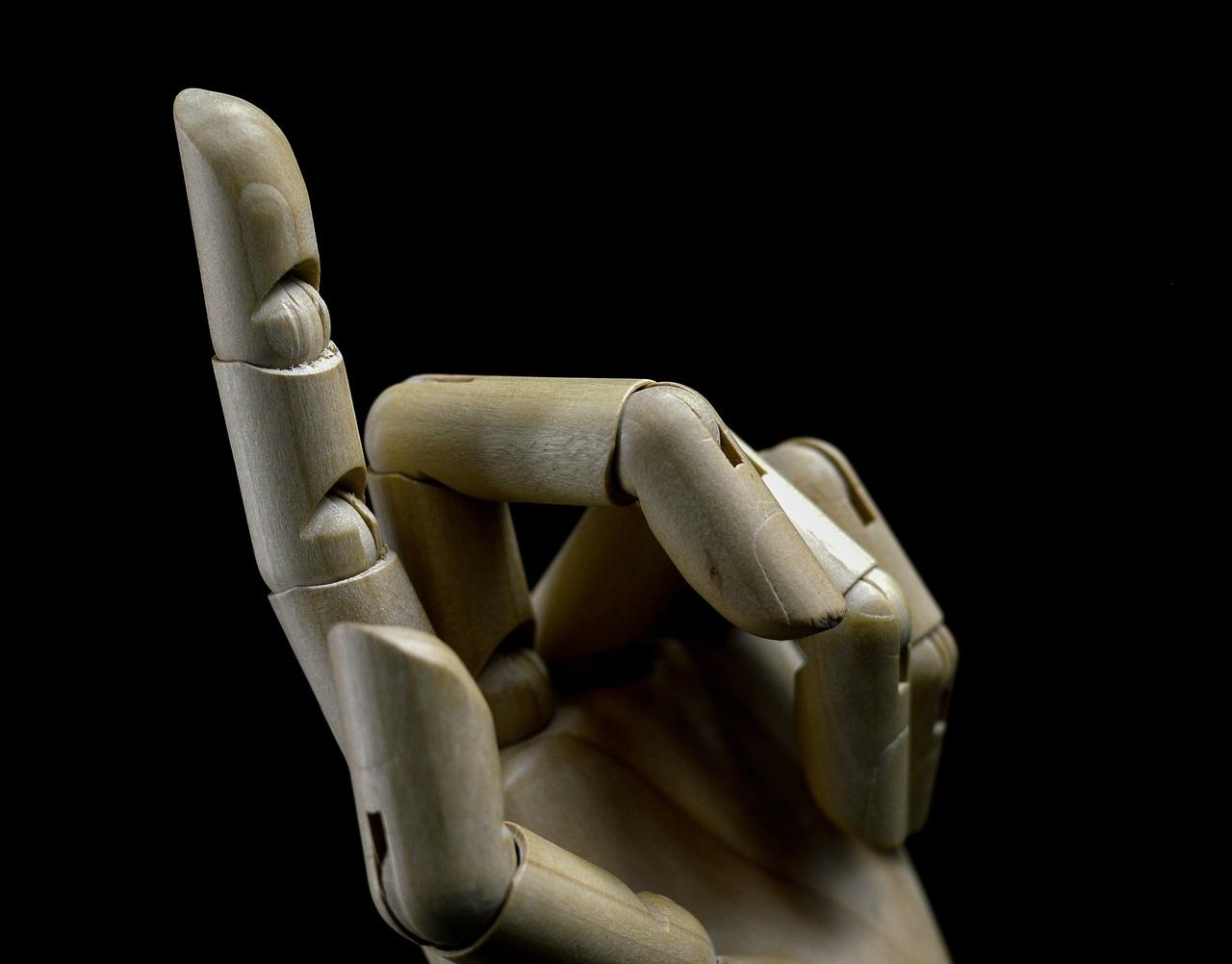рука, робот, искусственный
