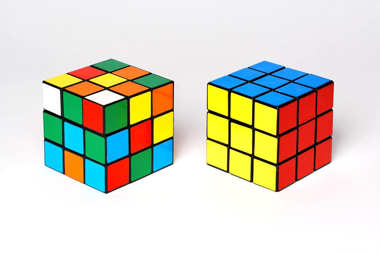 кубик Рубика, головоломка, игра