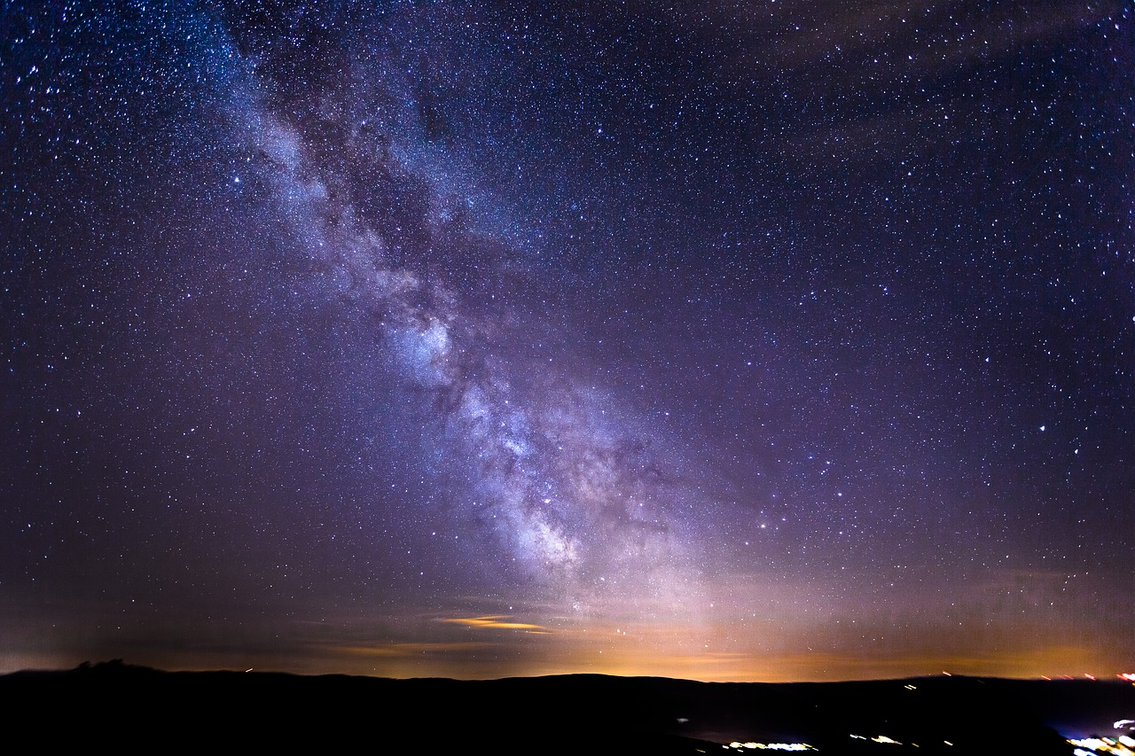 звёзды, небо, космос
