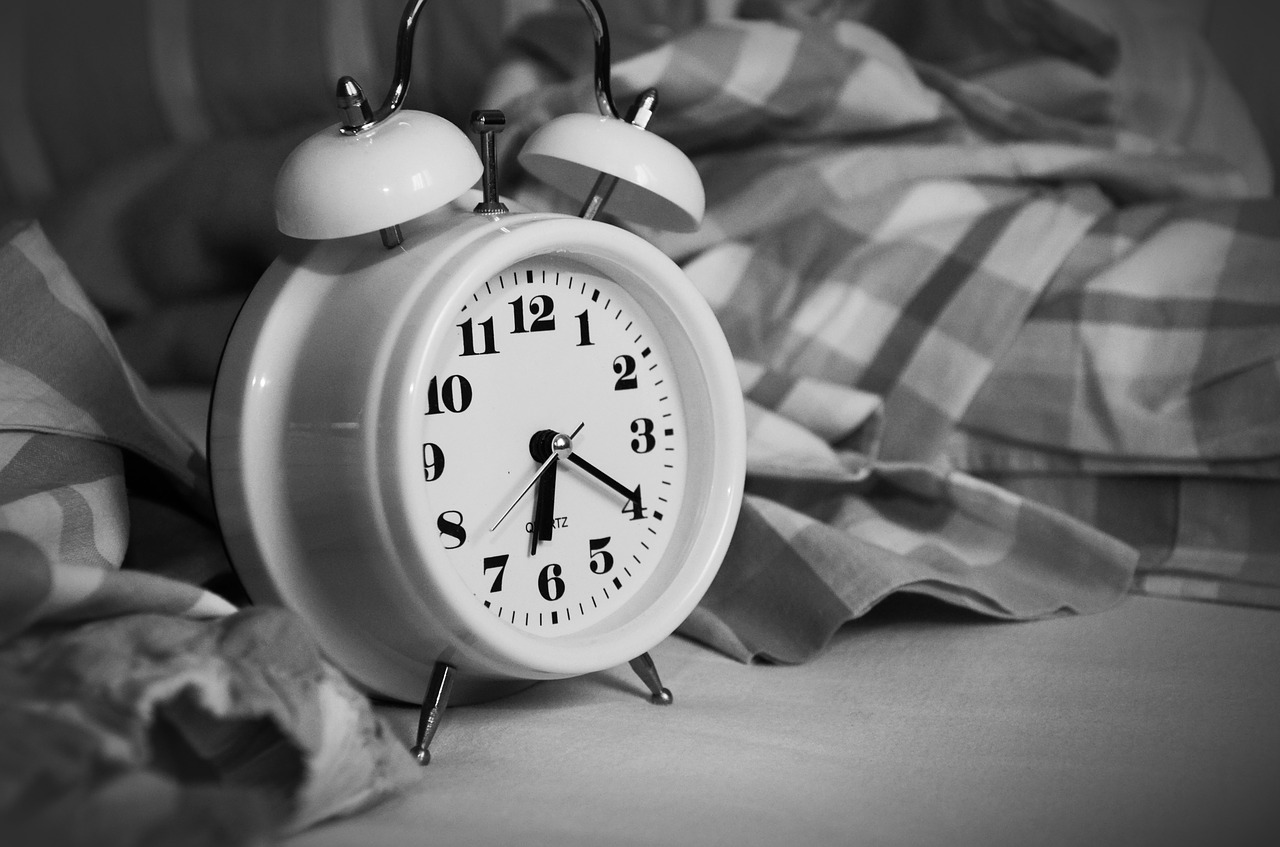 будильник, утро, пробуждение