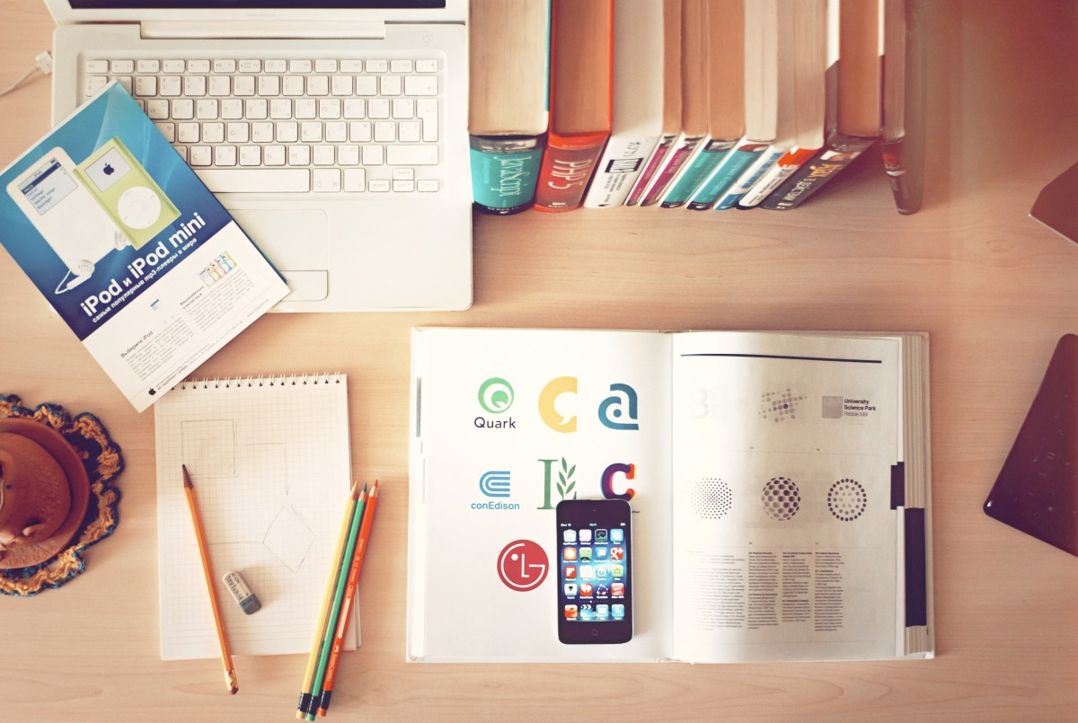 обучение, образование, современный, смартфон