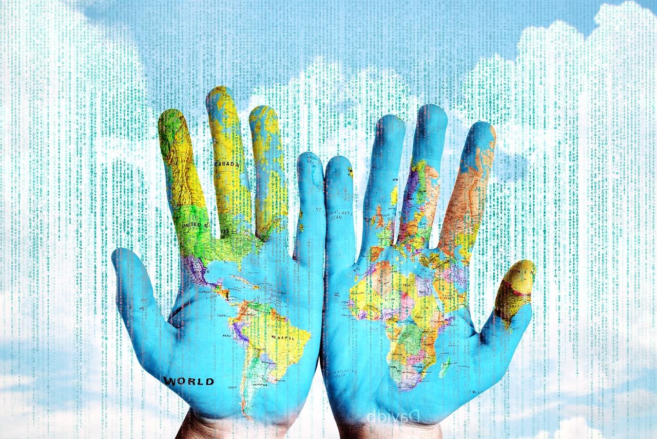 мир, слова, текст, карта