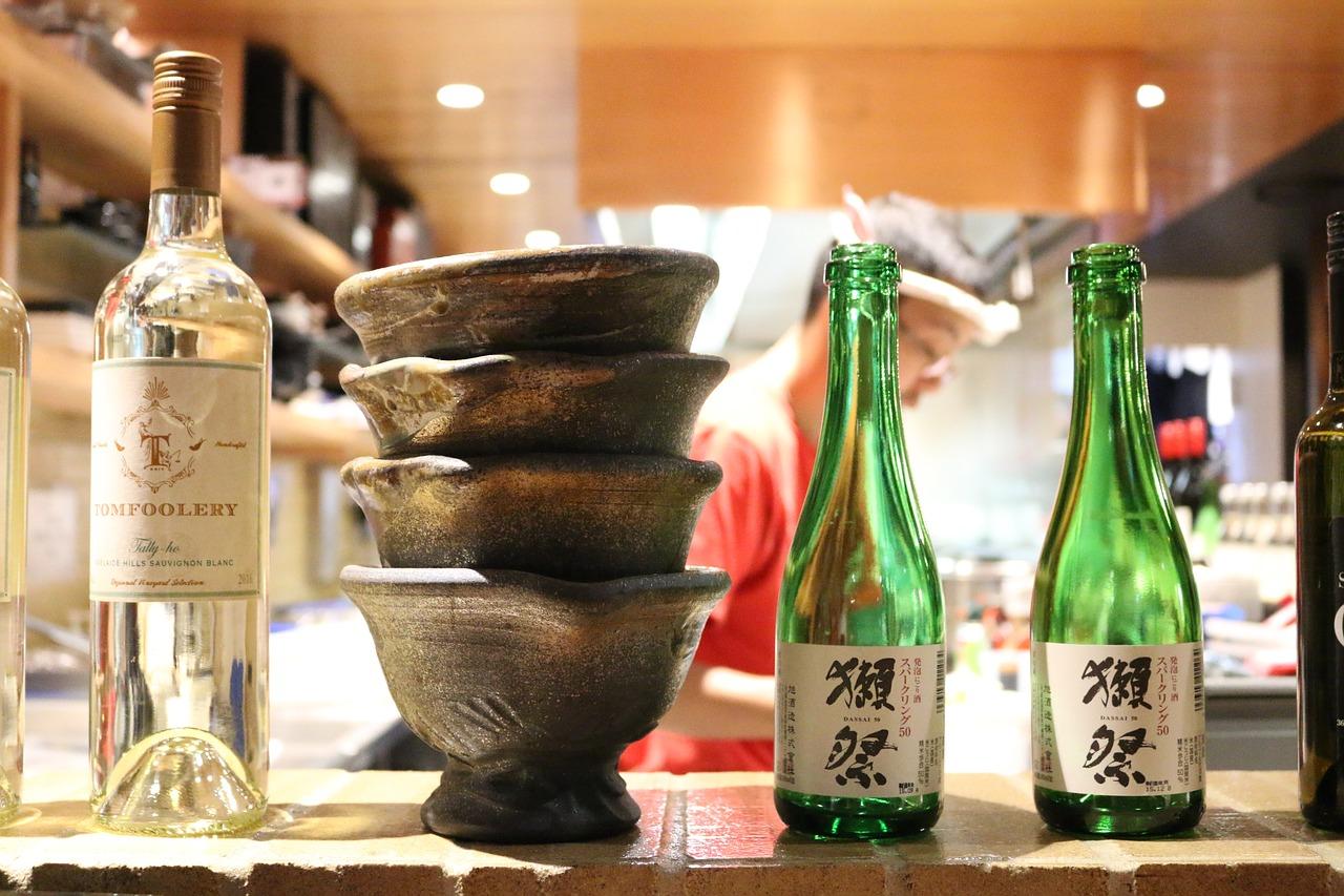вино, ресторан, япония