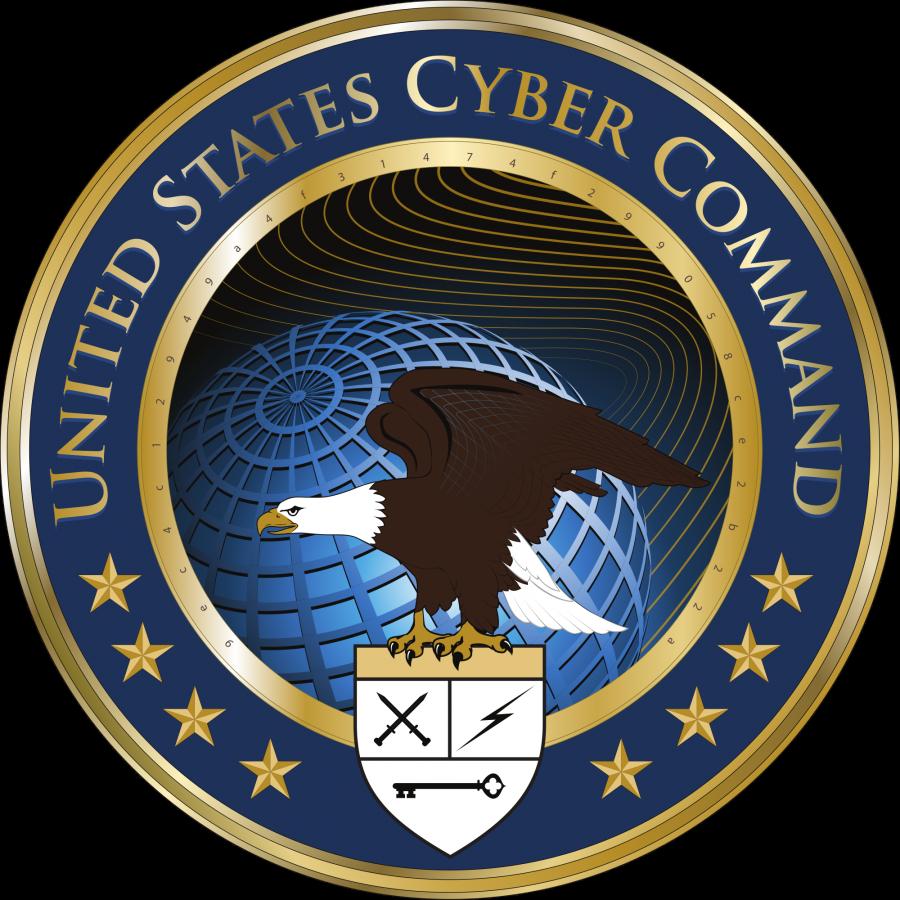 Эмблема Кибернетического командования ВС США