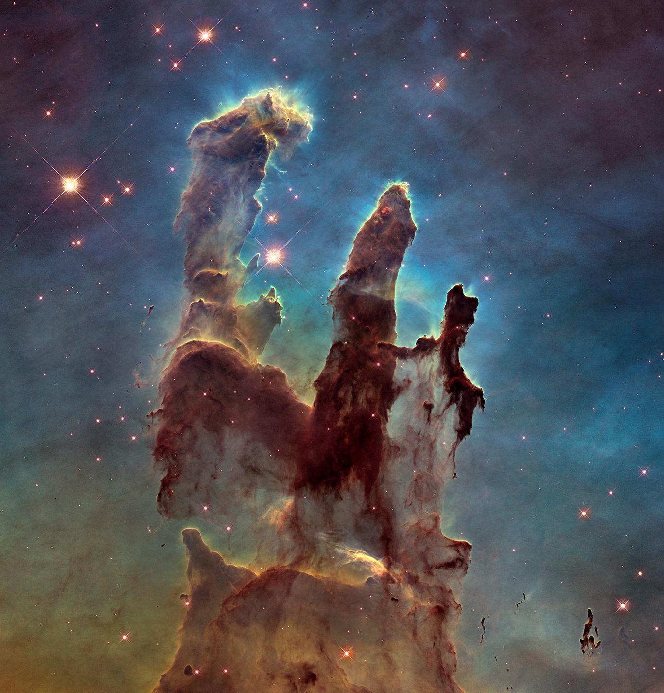 Туманность Орел, «Столпы творения»