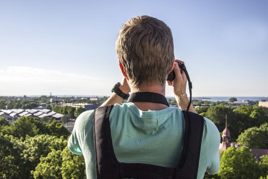 Турист с камерой