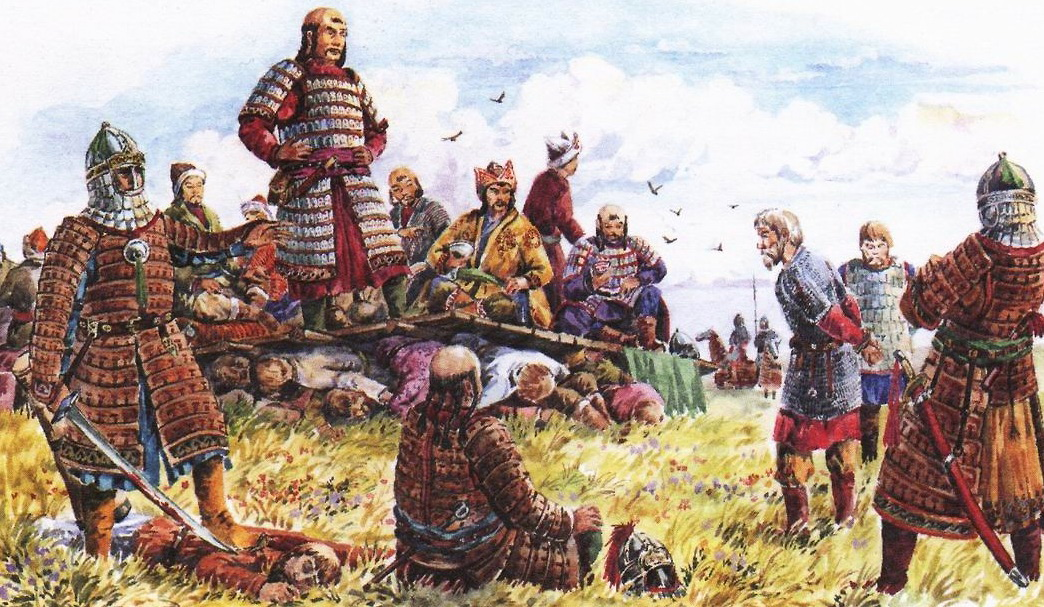 монголо татары, нашествие монголо татар, альтернативня история