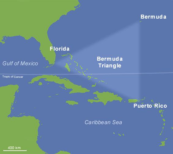 Раскрыта тайна Бермудских островов
