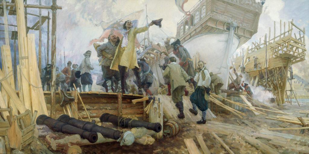 Как Петр Первый строил военно-морской флот: правда и вымысел