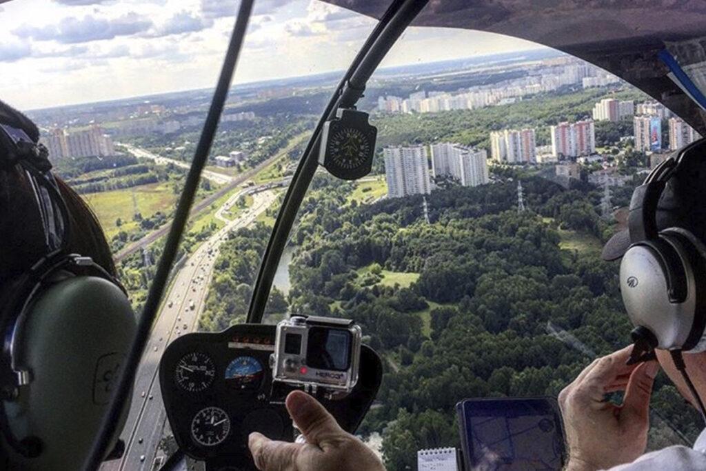 Незабываемый подарок: эксклюзивный полет на вертолете